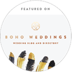 Featured on Boho Weddings
