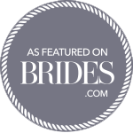 As featured on brides.com