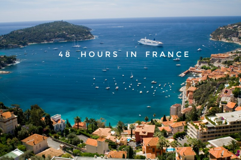 48 hours in France // Behind the scenes