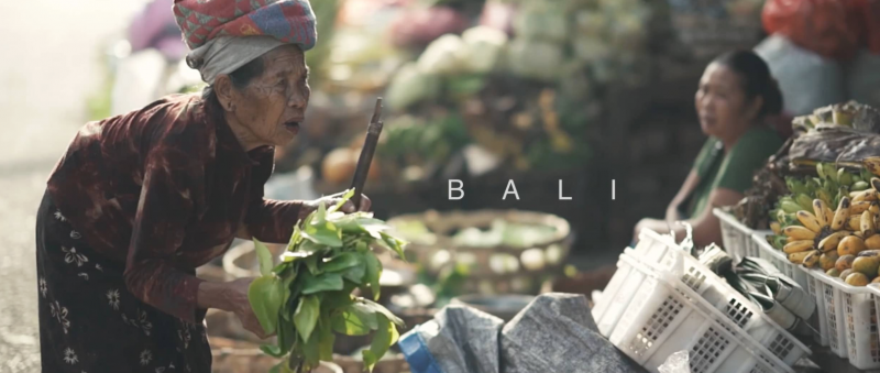 {faces of}  BALI